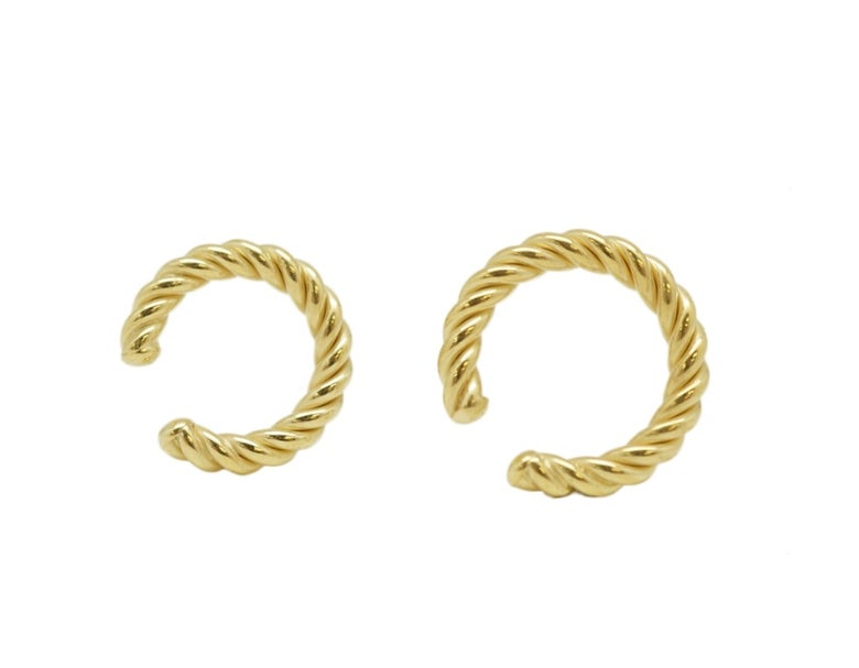 Image of Ribbed Ear cuff (plain and ribbed option below)