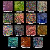 """Chunky Glitter Plugs (sizes 0g-2"""")"""