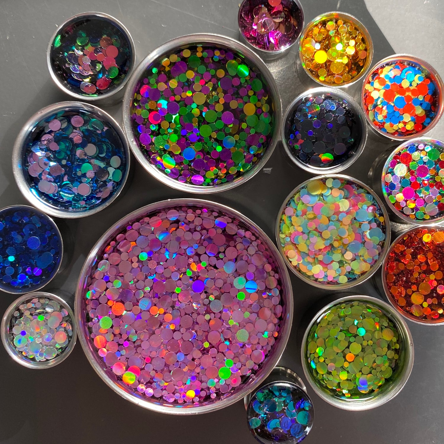 "Image of Chunky Glitter Plugs (sizes 0g-2"")"