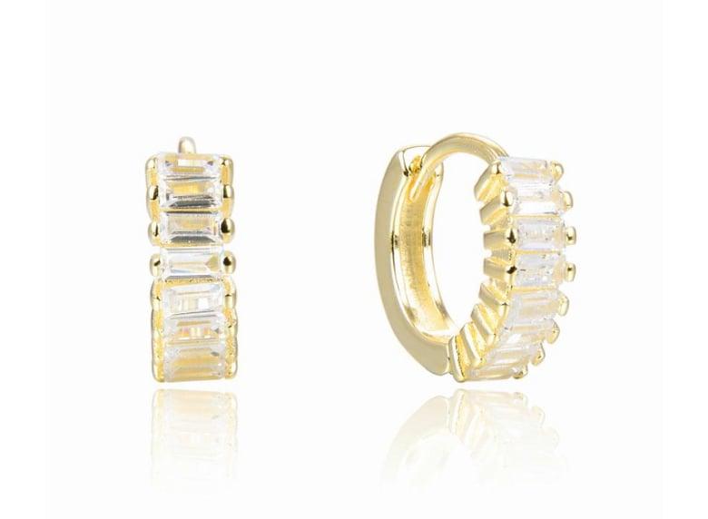 Image of Baguette earrings