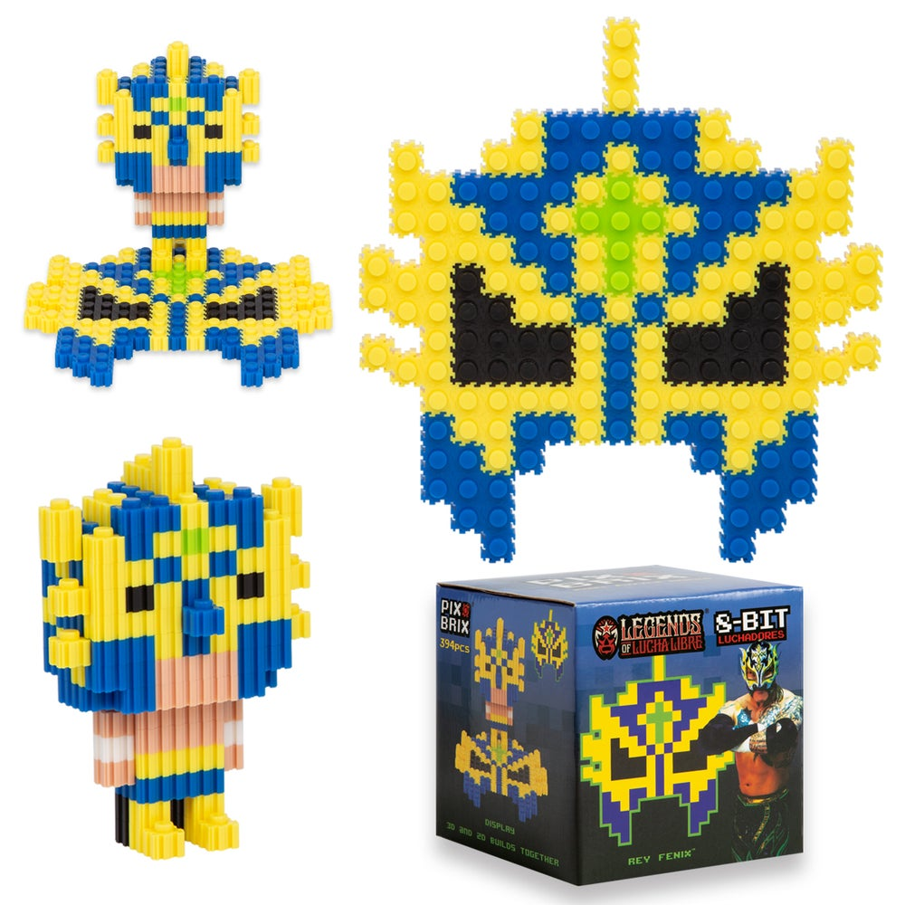 Image of Pix Brix - Rey Fenix 2D & 3D Puzzle Set (20% OFF BLACK FRIDAY SPECIAL)