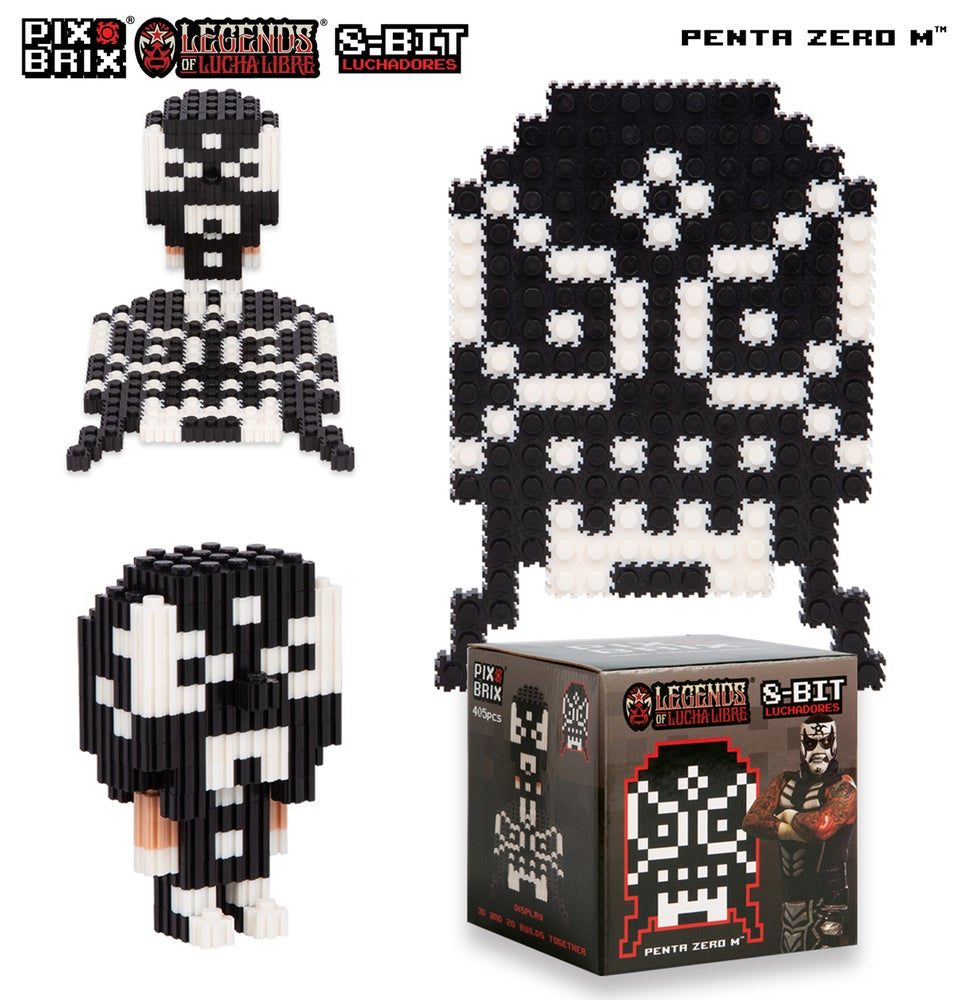 Image of Pix Brix - Penta Zero M 2D & 3D Puzzles (20% OFF BLACK FRIDAY SPECIAL)