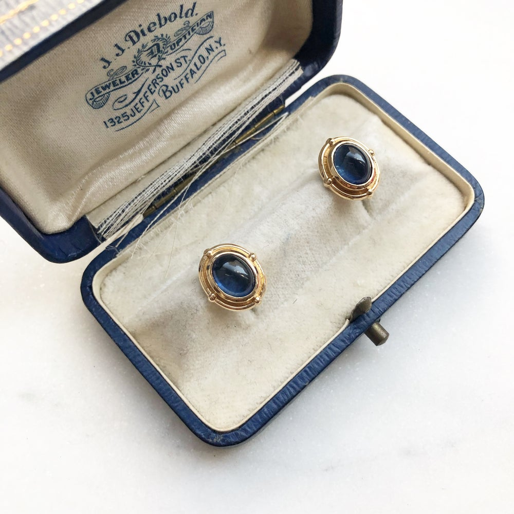 Image of Victorian Cabochon Earring