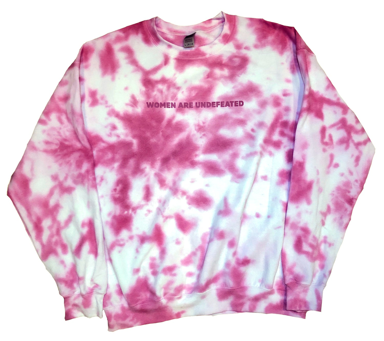 Image of Tie-Dyed Crewneck (Viviane Audi Collection)
