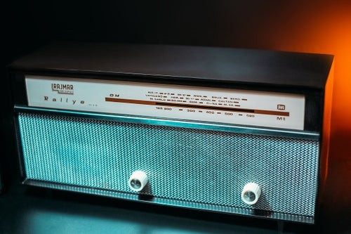 Image of RAJMAR RALLYE (1961) RADIO VINTAGE BLUETOOTH