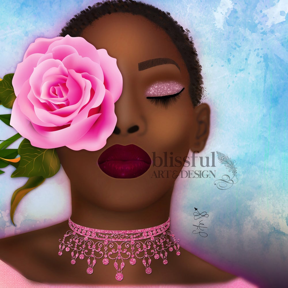 Image of Kissed by a Rose {PRINT} 12x12
