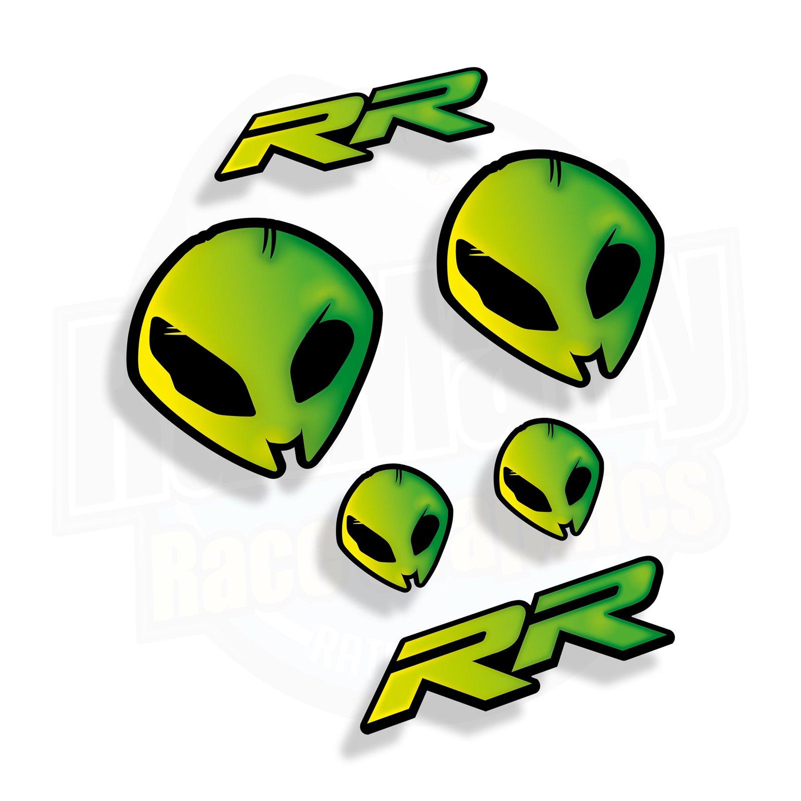 Bmw Rr Alien Stickerbomb Ratmally Race Graphics