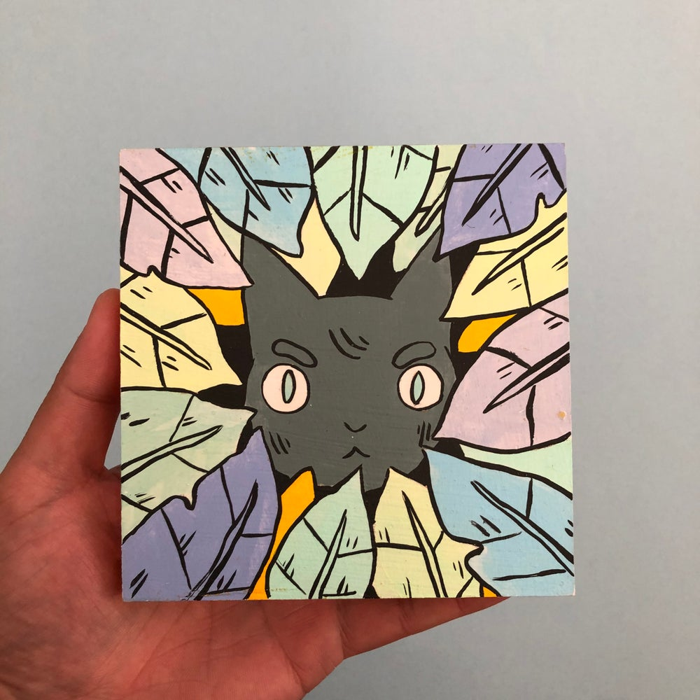 Image of Hidden Cat Painting