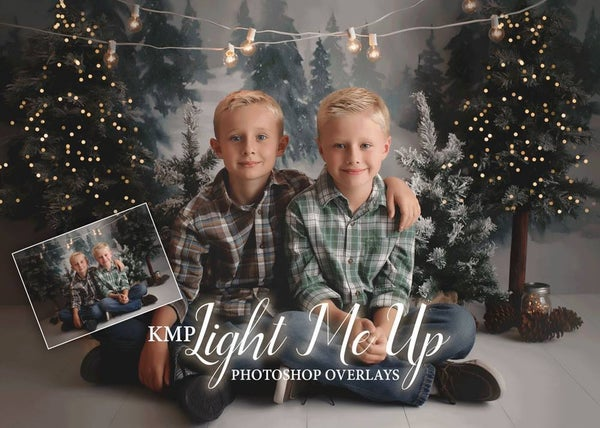 Image of KMP Light Me Up Overlays PLUS Holiday Light Overlays