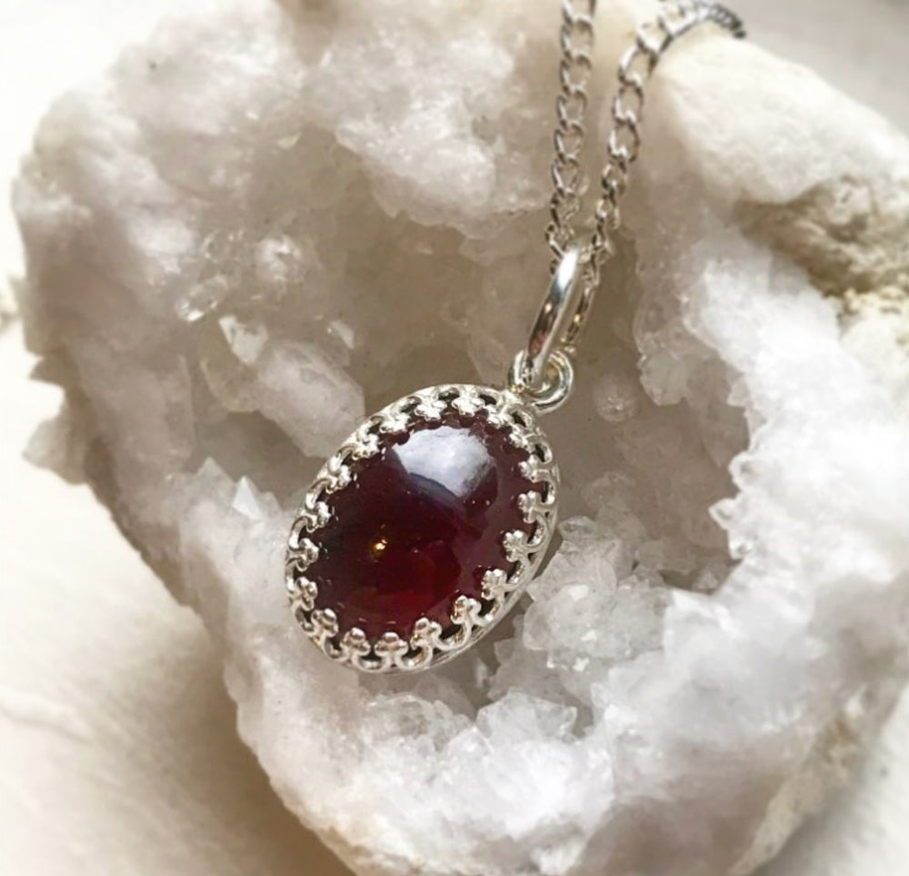 Image of FIRENZA Garnet necklace