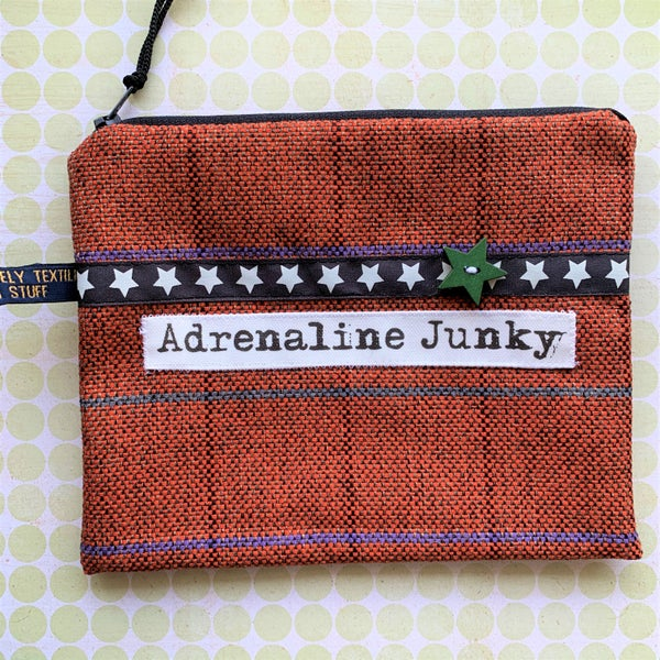 Image of Adrenaline Junky Man Purse