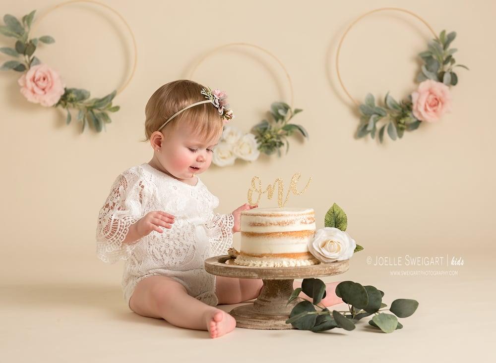 Image of Cake Smash or Milestone Session