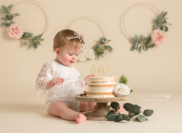Image of Cake Smash or Milestone Session