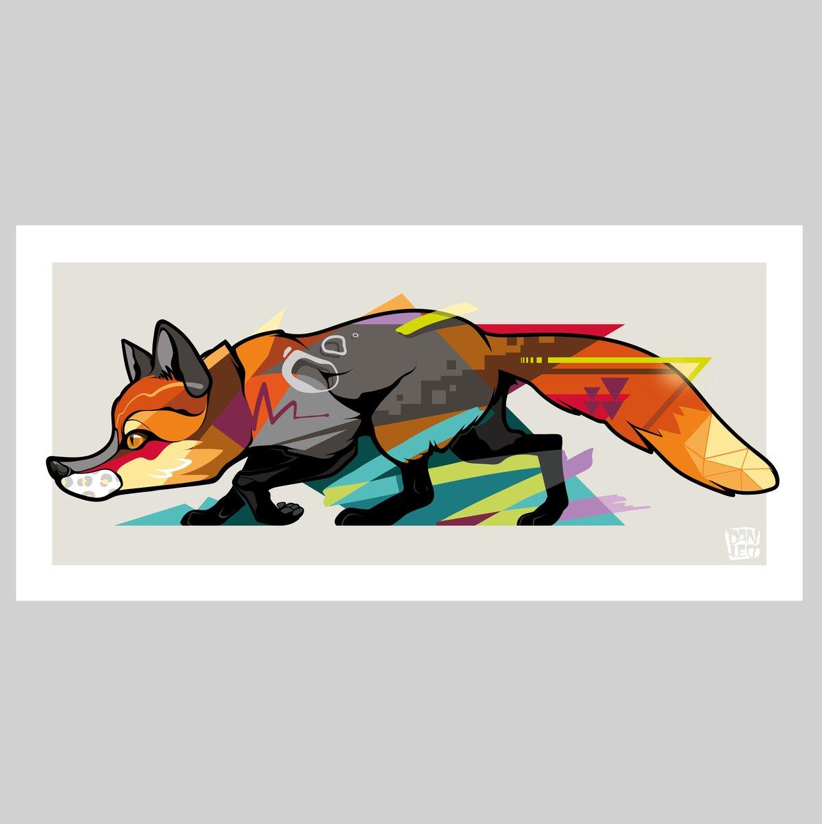 Image of FOX Print