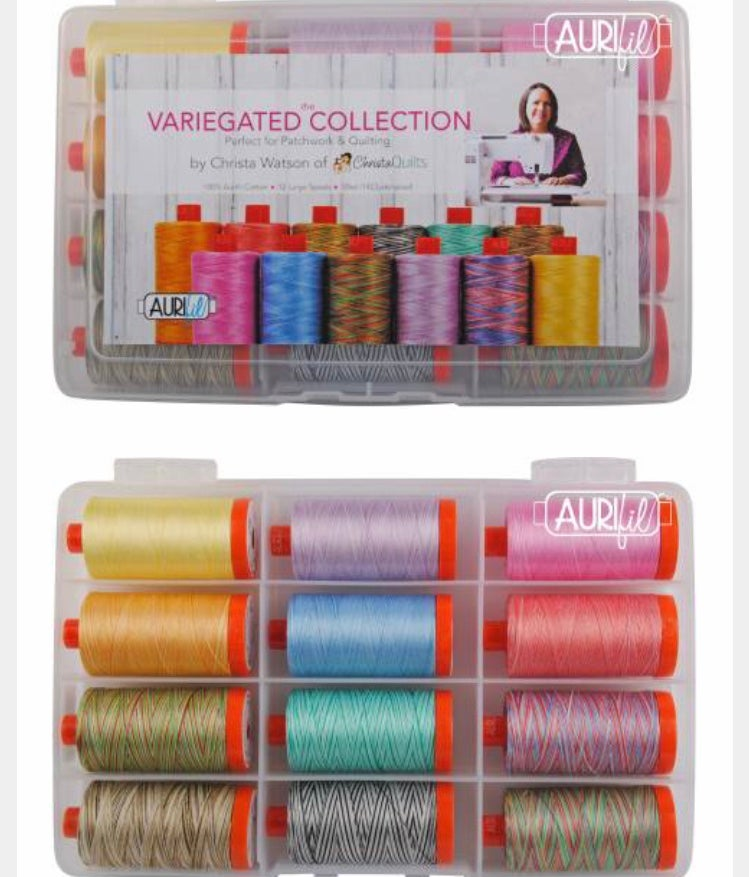 Image of Aurifil Thread Kit - The Variegated Collection by Christa Watson