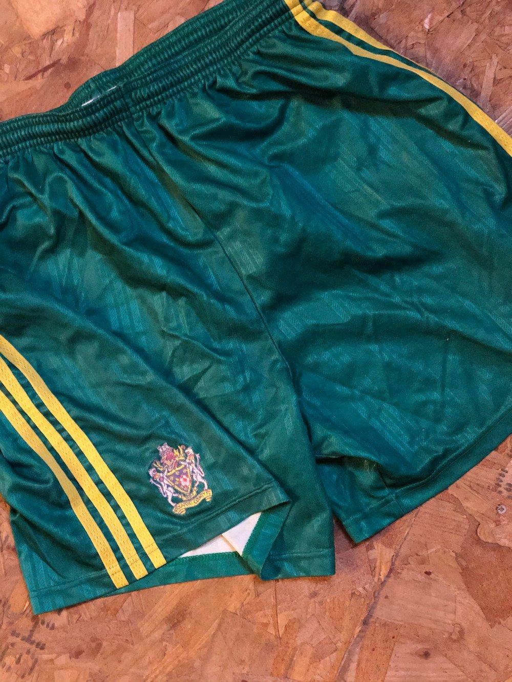 Match Worn 1998/99 adidas Away Shorts