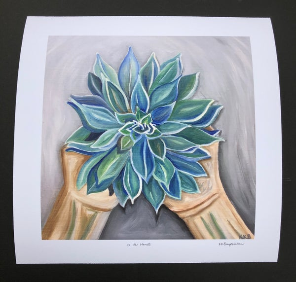 Image of In Her Hands Giclee Print