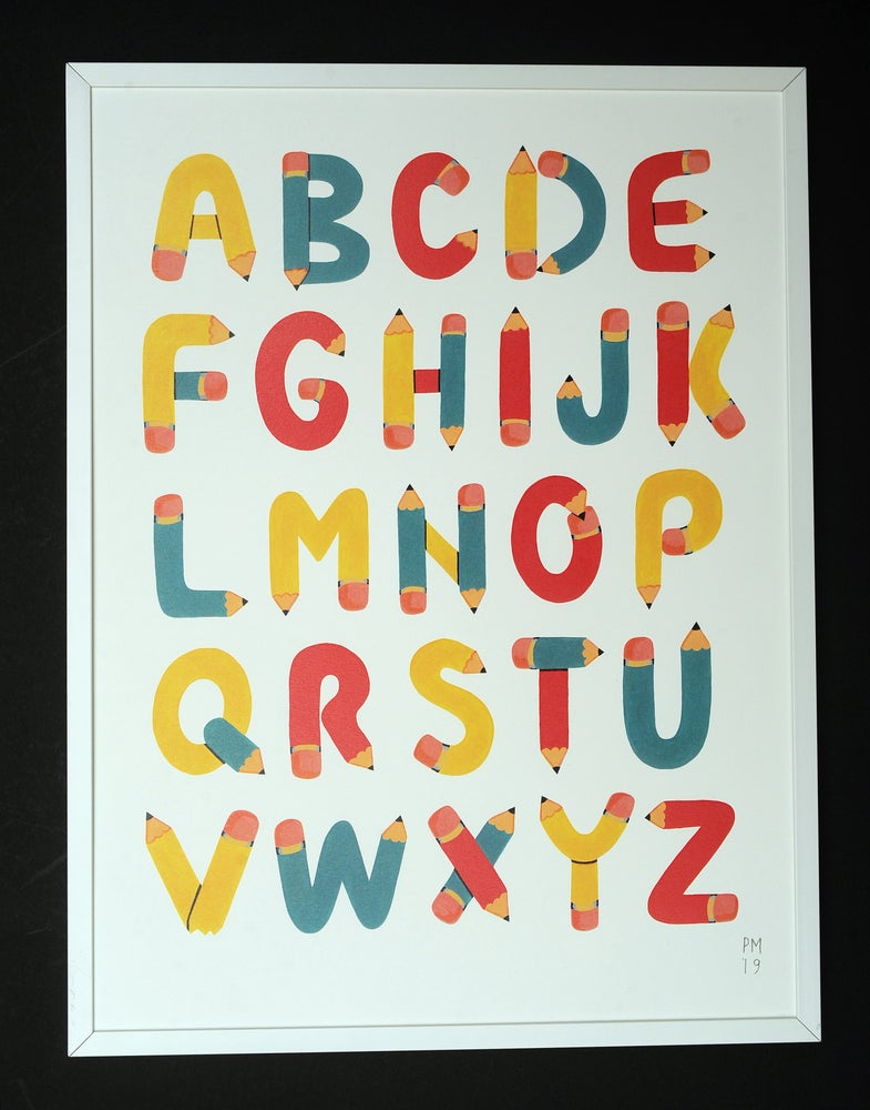 Image of ' Alphabet ' A3 Print
