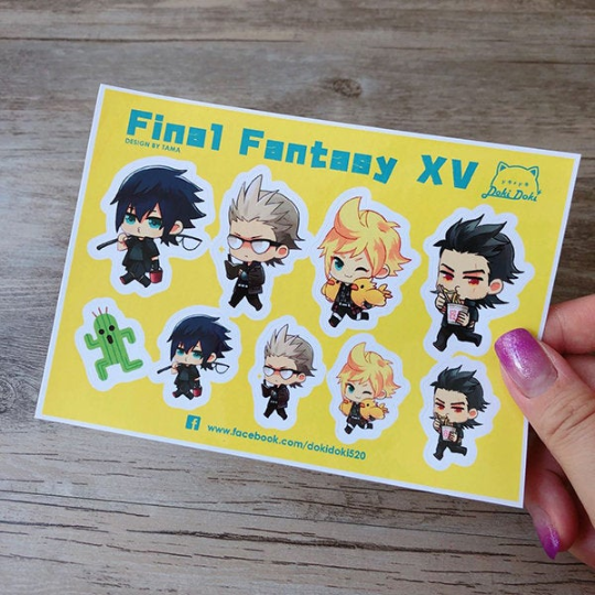 Image of FINAL FANTASY 15 FFXV stickers