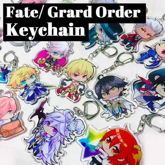 Image of Fate/Grand Order Servant Acrylic Keychain Charms