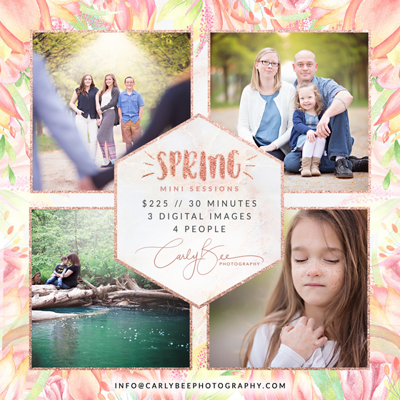 Image of 🌷 2020 Spring Mini Session 🌷