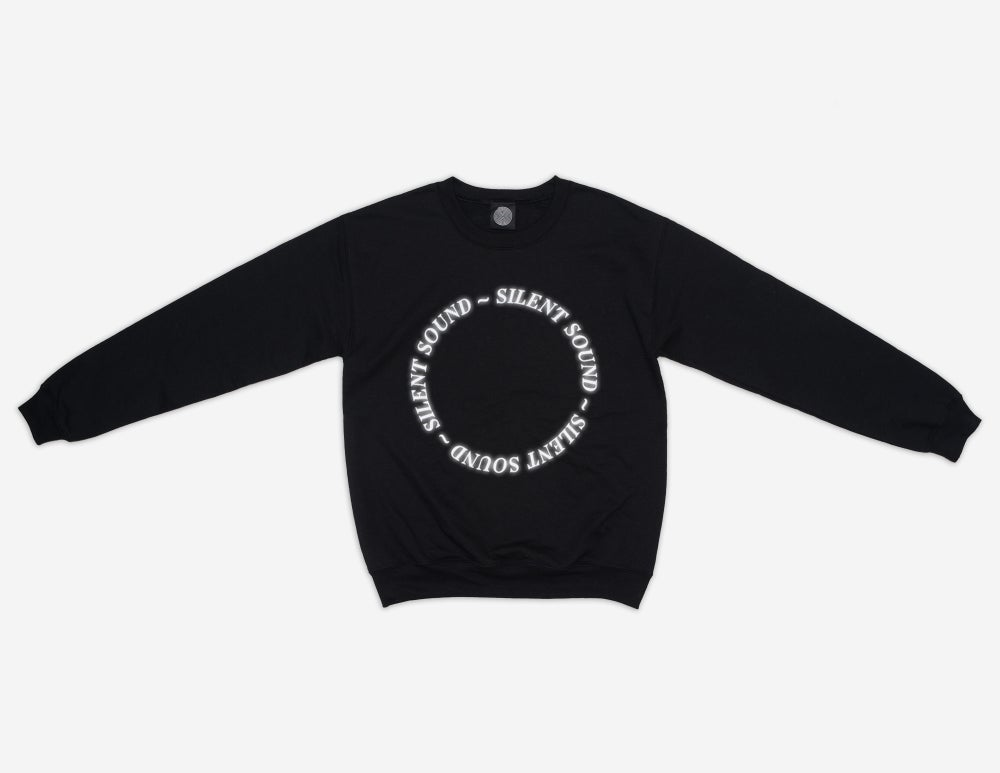 Image of Pullover Sweatshirt - Black / 3M Reflective