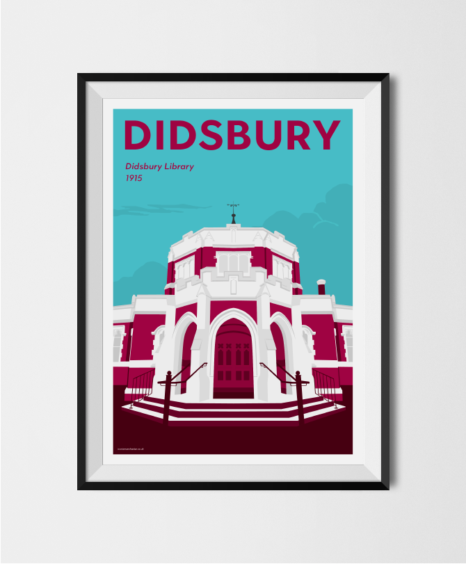 Image of DIDSBURY - The Didsbury Library