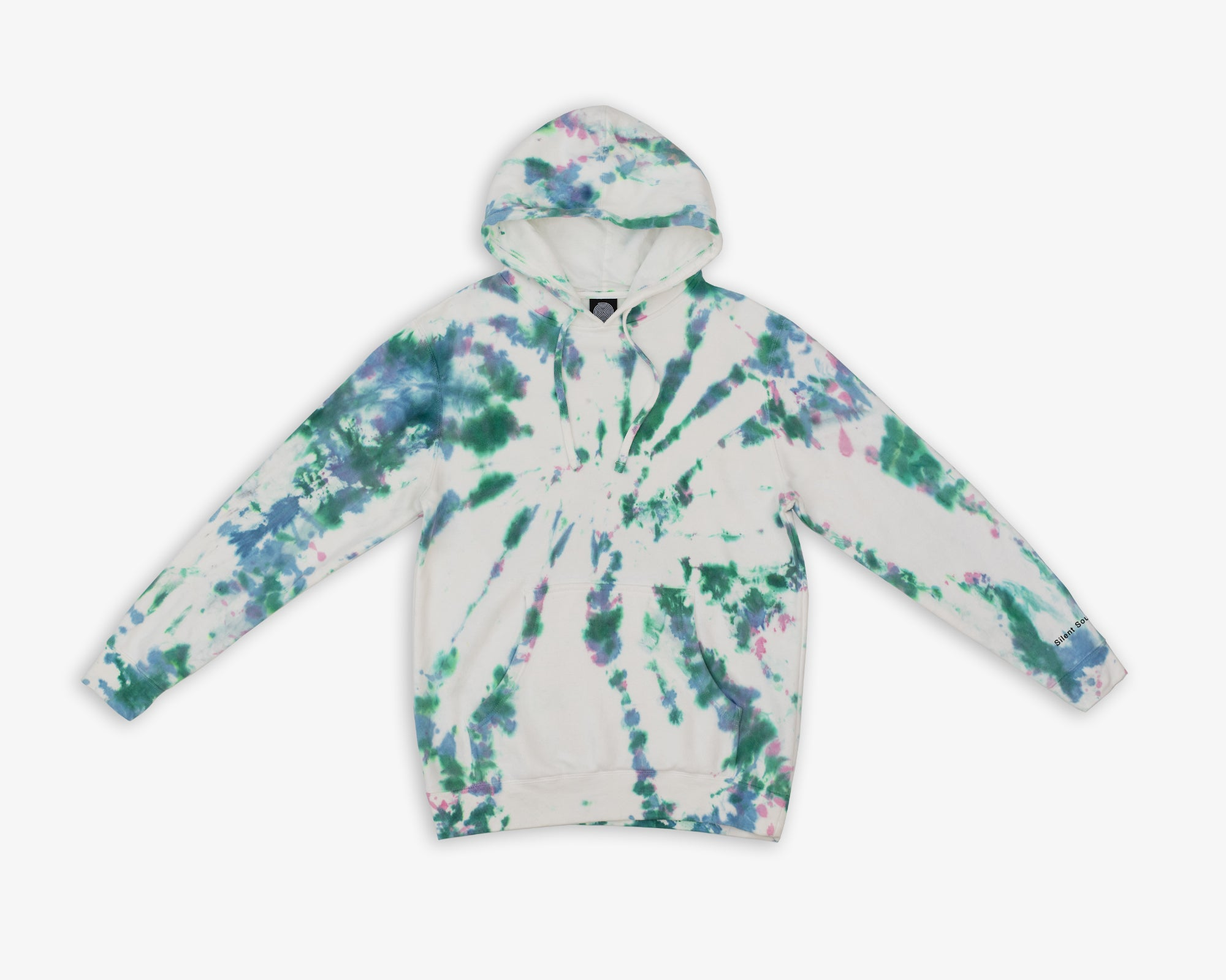 Image of Hooded Sweatshirt - Hand Dye / Black