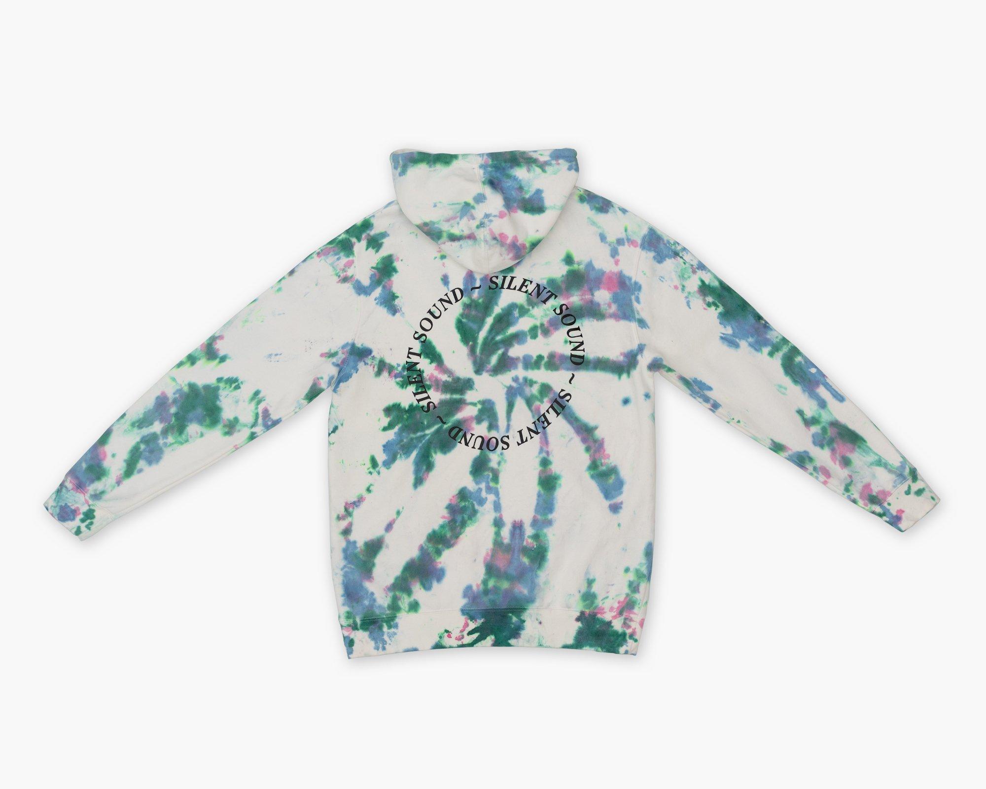 Image of Hooded Sweatshirt - Hand Dye / Black