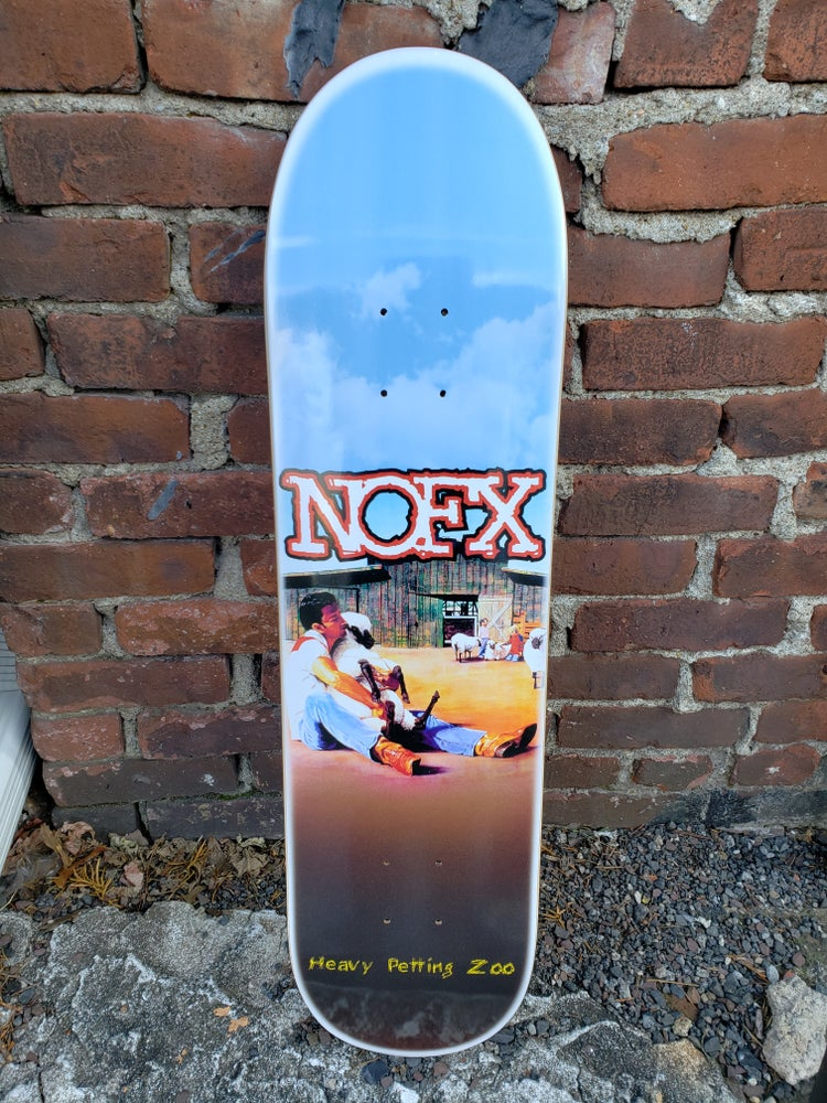 Image of NOFX BUNDLE Zoo + Eating Lamb skateboards