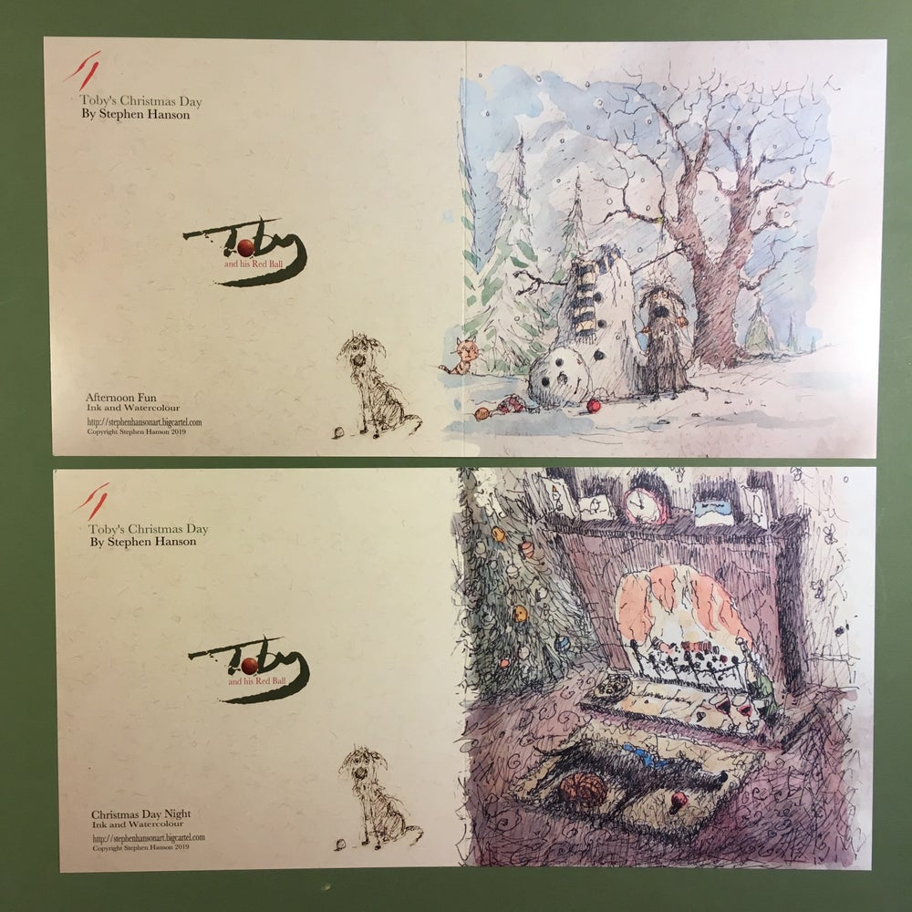 Image of Toby Christmas Cards