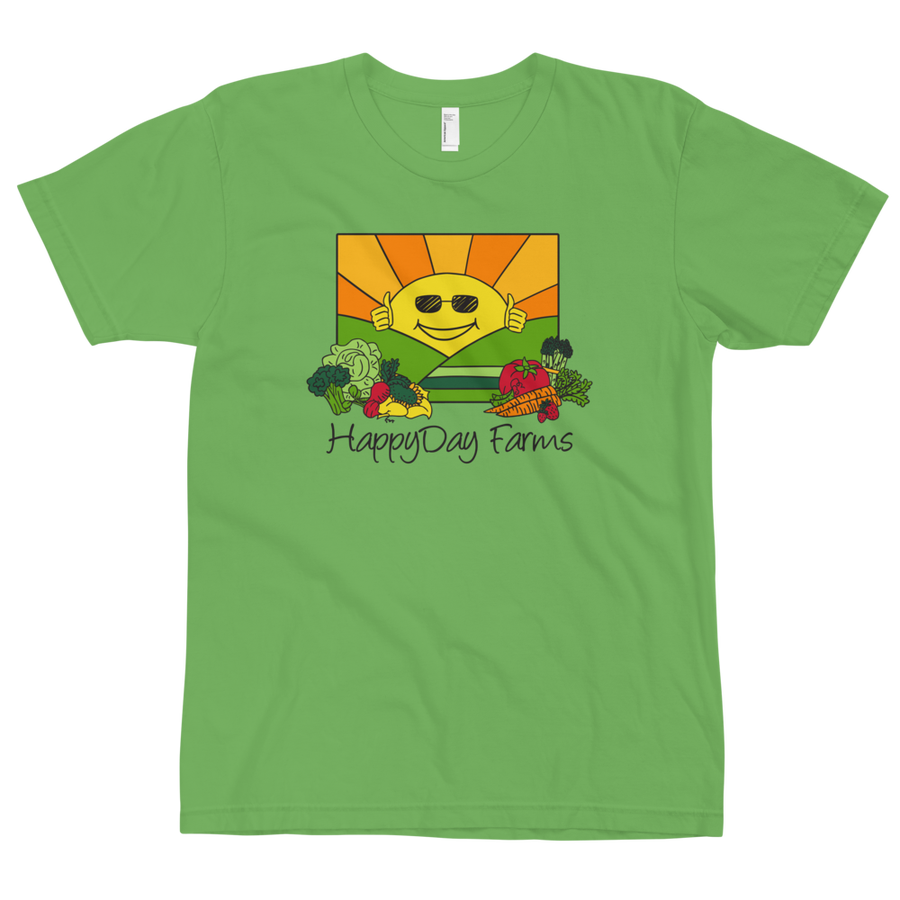 Image of Green American Apparel T-Shirt
