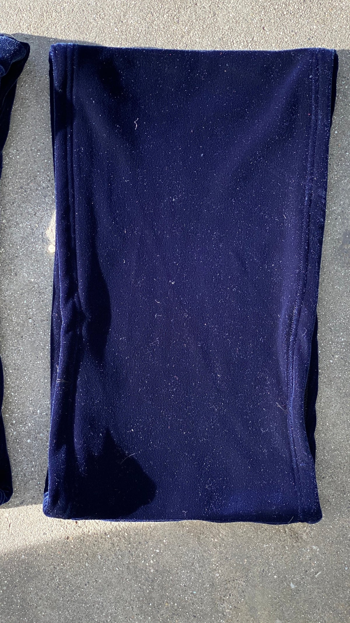 Image of MOON INDIGO VELVET SET