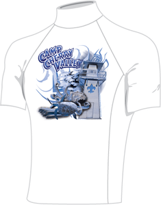 Image of 2010 CCV Rash Guard Short Sleeve (Sizes Small to Large)