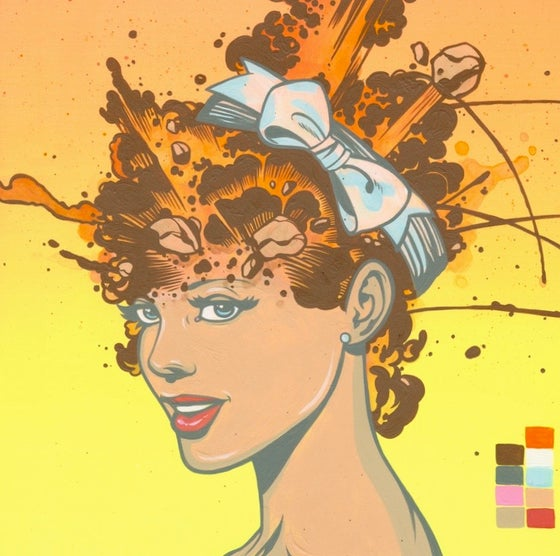 Image of Steve Seeley: untitled (explosion #8)