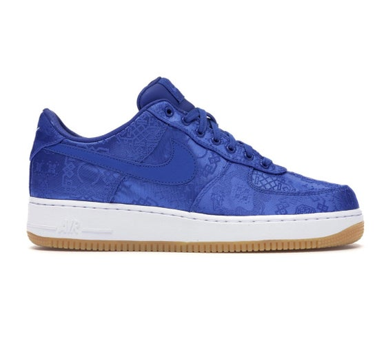 Image of Nike Air Force 1 - Clot (Blue Silk) - Size 12