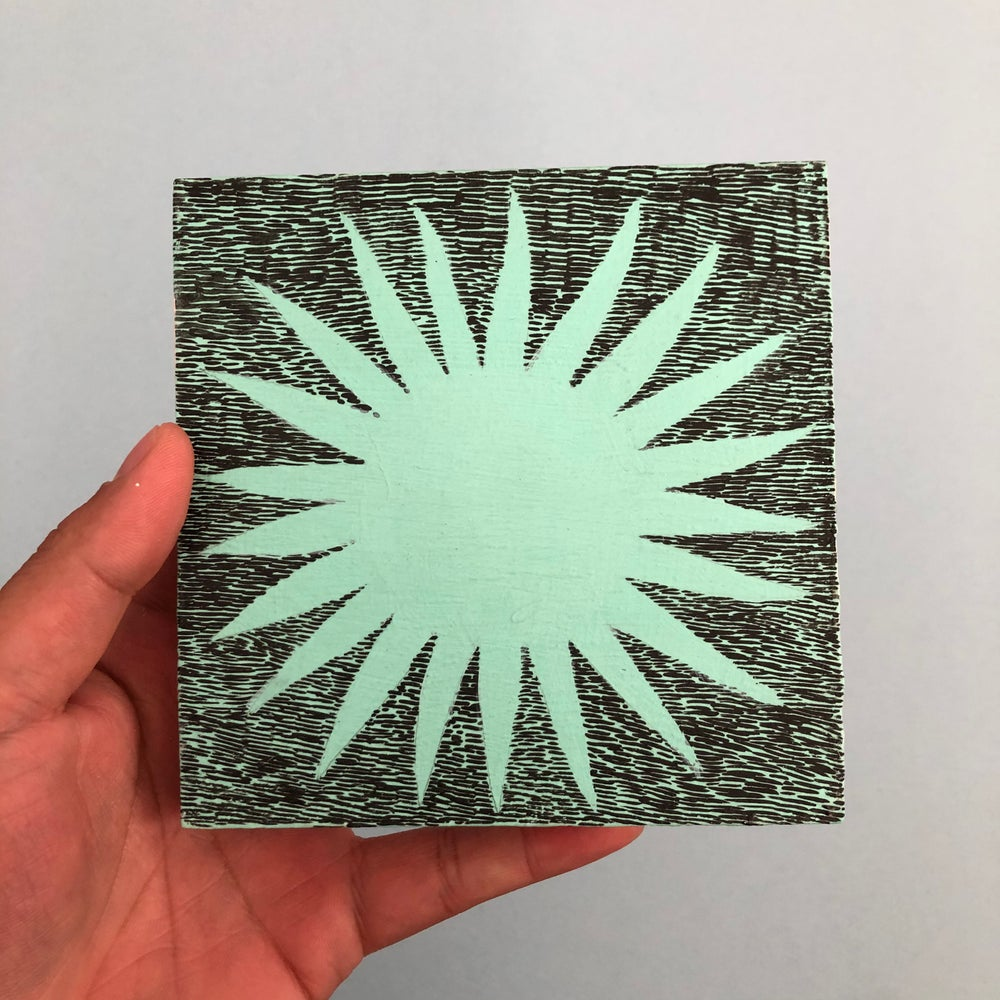 Image of Blue Star Painting
