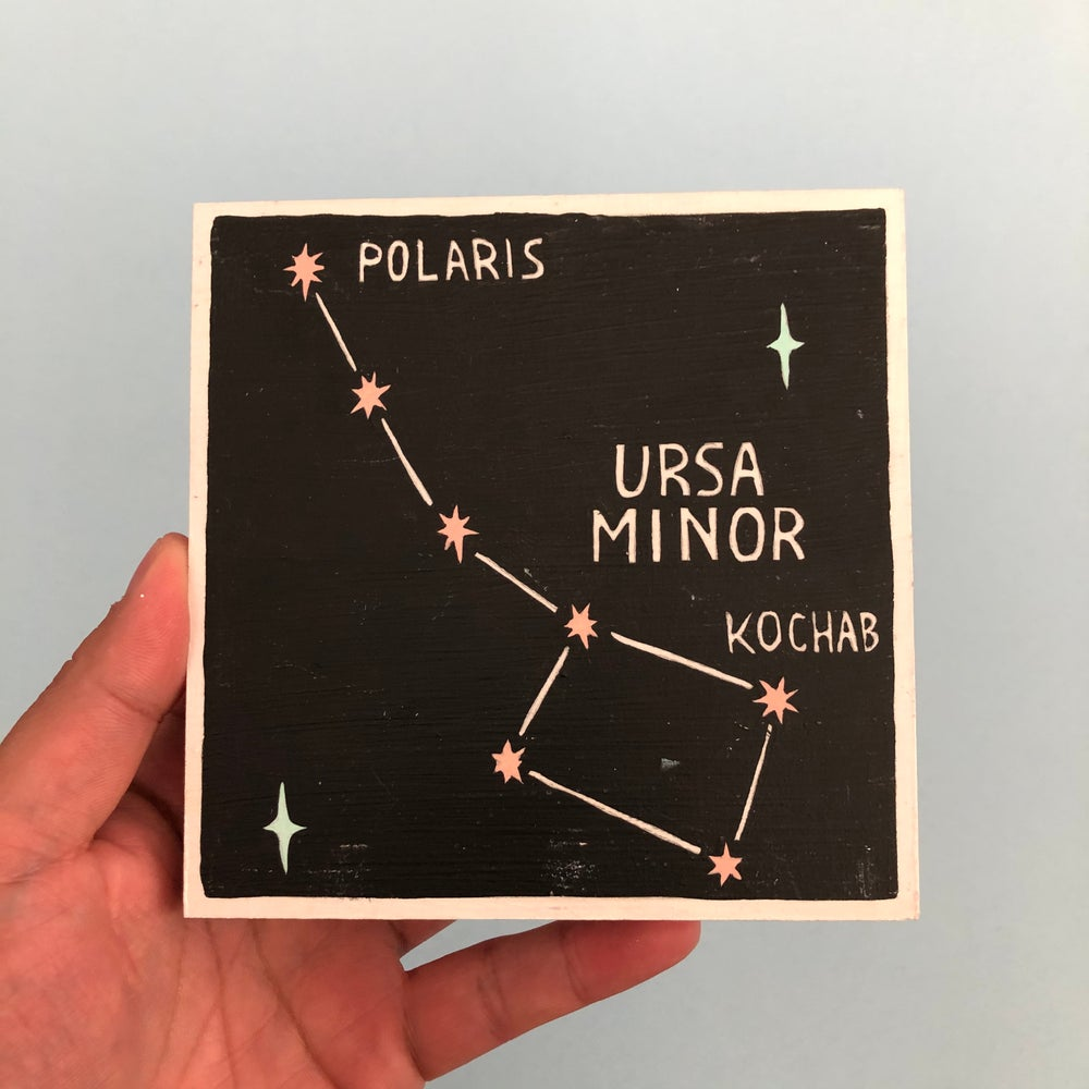 Image of Constellation: Ursa Minor Painting