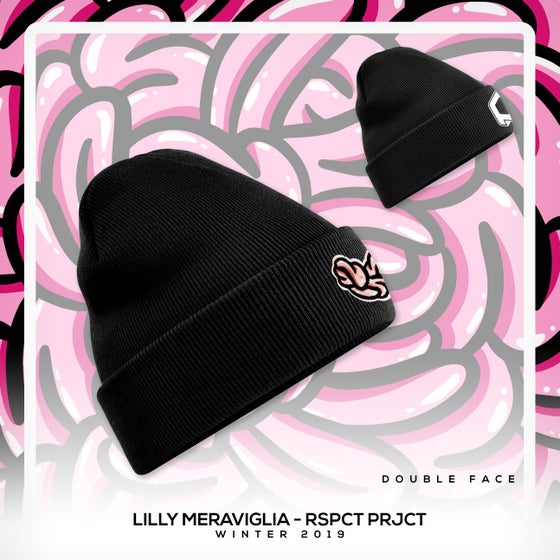 """Image of PRE- ORDER Beany Black - Lilly Meraviglia x Respect Project """"street wear"""""""