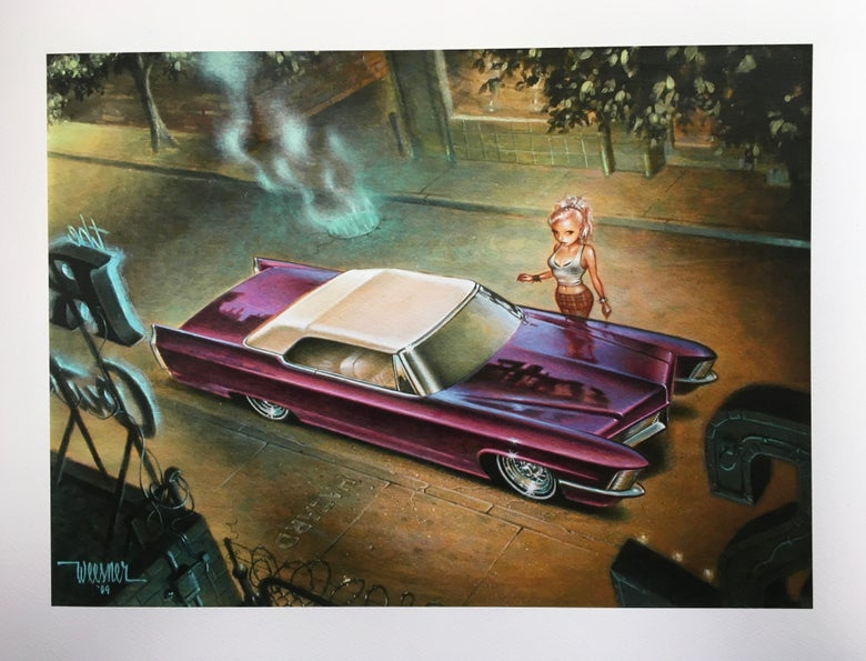 Image of Creeping DeVille (giclee print)