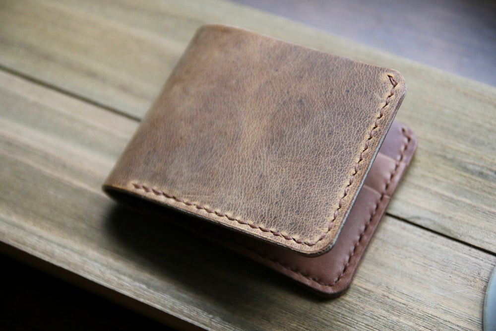 Image of Traditional Bifold in Folklore Vintage and Natural Chromexcel