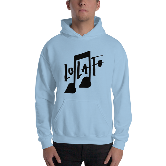 Image of Classic Love Lasts Forever Hoodie - Baby Blue