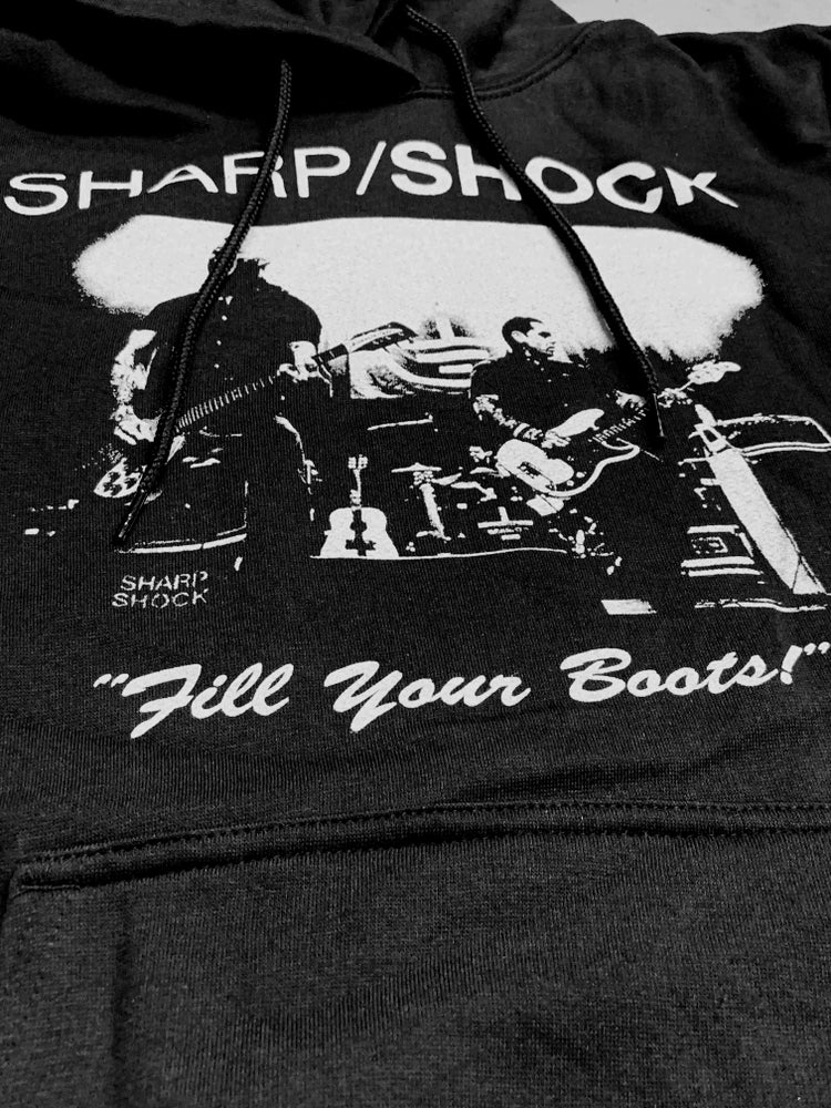 Image of Fill Your Boots Hooded Sweatshirt
