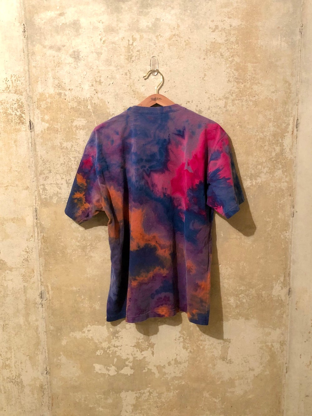Medium Puff Print Tie Dye Shirt #1