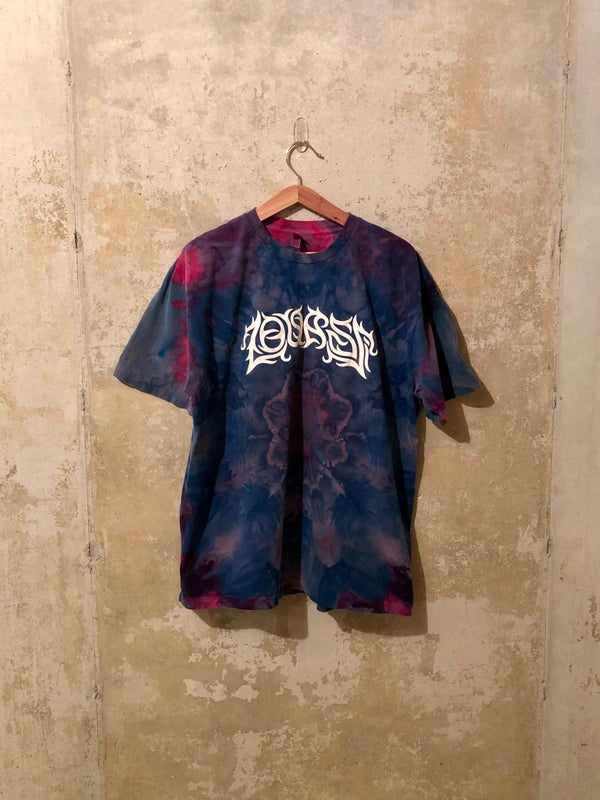Image of Large Puff Print Tie Dye Shirt #2