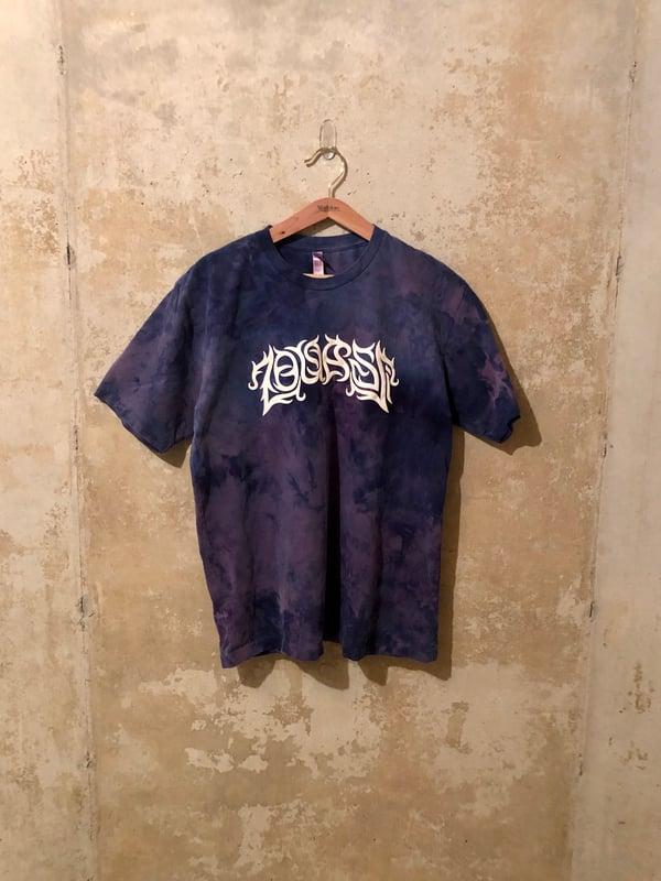 Image of Medium Puff Print Tie Dye Shirt #4