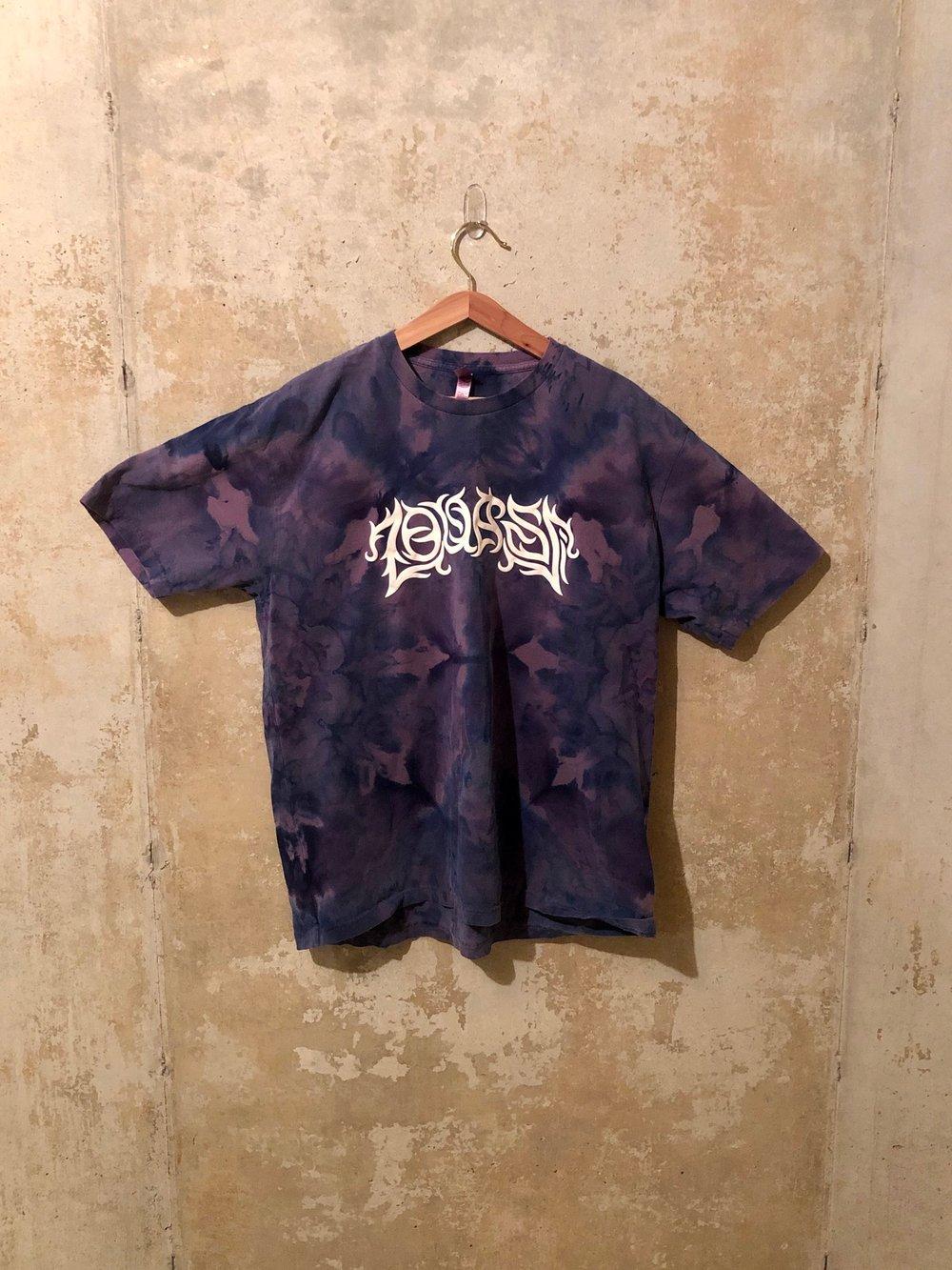Large Puff Print Tie Dye Shirt #5