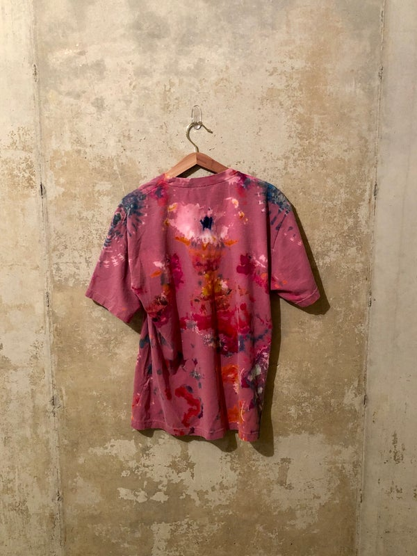Image of Medium Puff Print Tie Dye Shirt #7