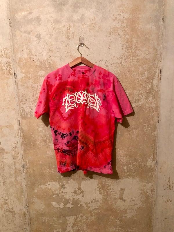 Image of Small Puff Print Tye Dye Shirt #8