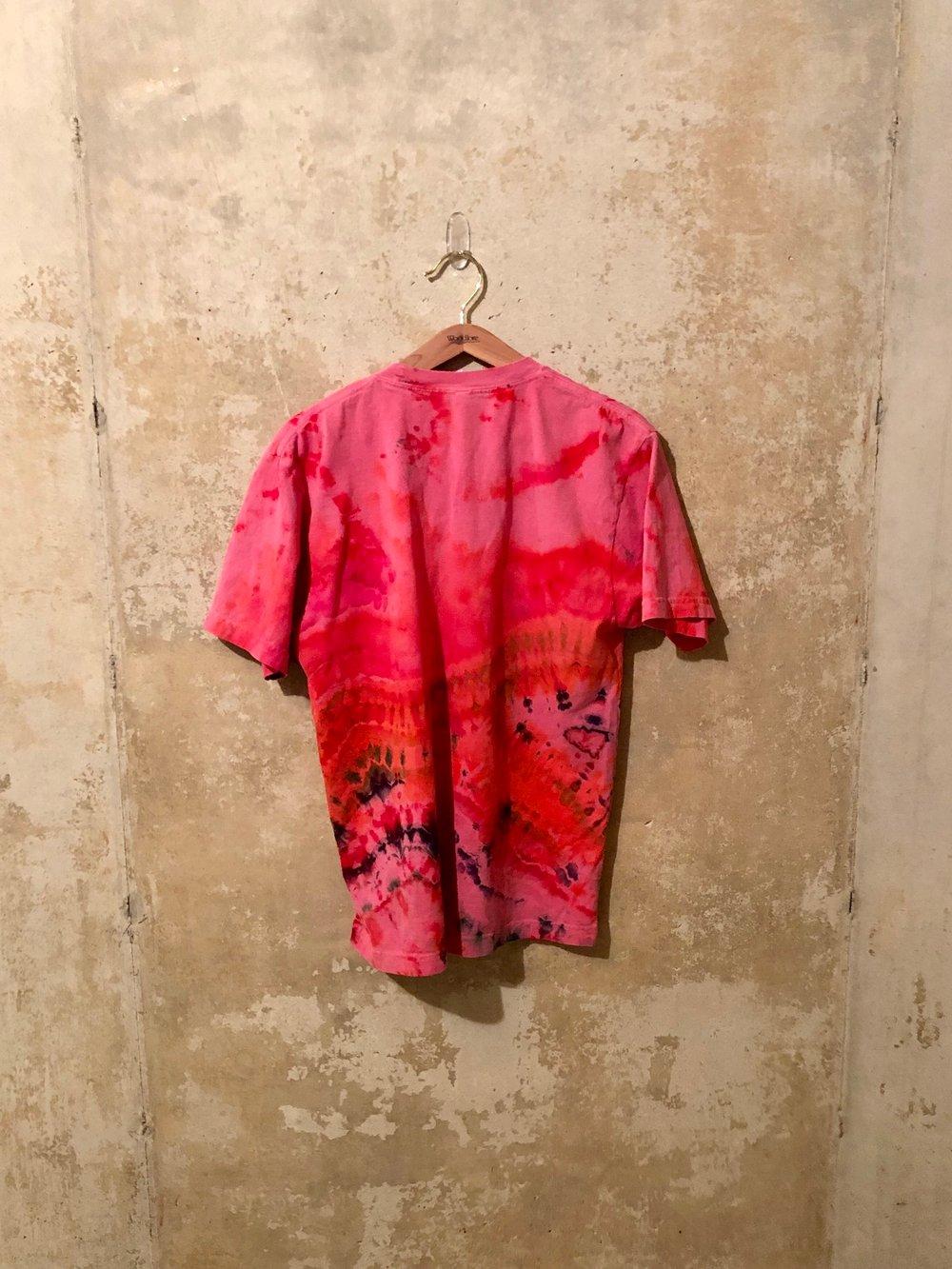 Small Puff Print Tye Dye Shirt #8